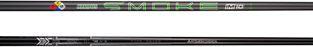 HZRDUS Smoke iM10 and MMT shafts